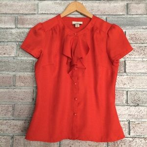 🌼5 for $25🌼LOFT ruffle blouse